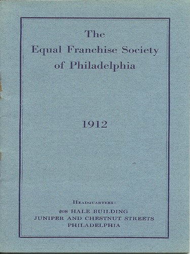 <em>The Equal Franchise Society of Philadelphia Constitution and By-Laws</em>