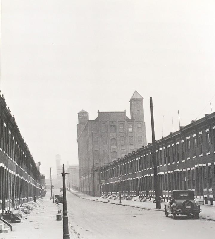 Row houses in Kensington