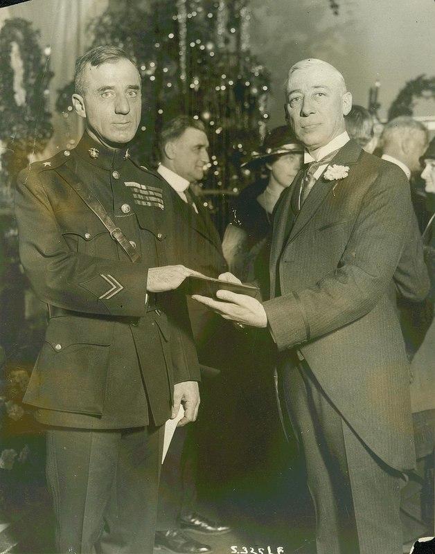 Smedley Butler Sworn in as Director of Public Safety, Philadelphia, 1924
