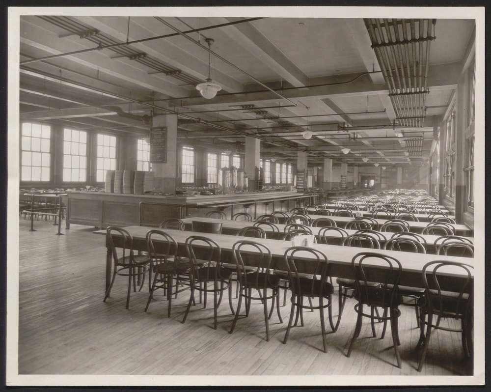 Stetson cafeteria for girls