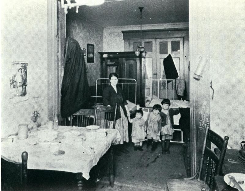 Young family living conditions