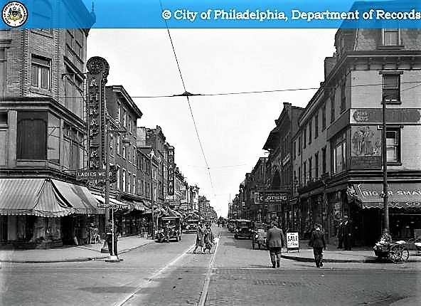 South Street-Looking East from 4th Street