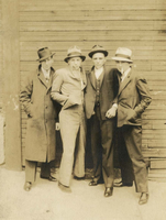 4 young men posing as gangsters, Keith Collection, Lib Co.  copy.jpg