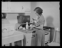 Woman Preparing Meals for her Family